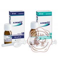 Азимед сусп. 200мг/5мл 30мл (КМП)