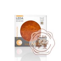 ЛЕДА Скраб-мыло с люфой апельсин 100г