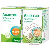Алактин табл. 0.5 мг №8 Тева Чехия