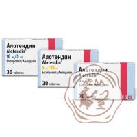 Алотендин табл. 10 мг/5мг  №30  Egis Венгрия