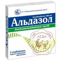 Альдазол табл. 400мг №3 КВЗ
