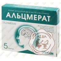 Альцмерат 250мг/мл амп. 4мл №5 Лекхим