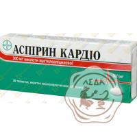 Аспирин-кардио 100мг №56 Bayer