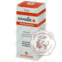 Кандид 1% р-р 15мл Гленмарк