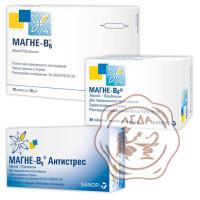 Магне-В6 антистрес табл. №60 Санофі