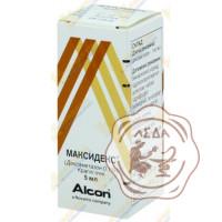 Максидекс гл.кап. 0,1% 5мл Алкон Бельгия