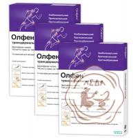 Олфен пласт. трансдерм.140 мг N2 Тева Германия