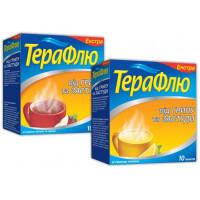 Терафлю Экстра лимон пор.пак.№10