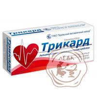 Трикард табл. 20 мг №30 КВЗ