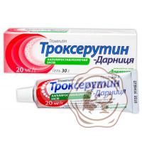Троксерутин гель 2% 30г Дарница