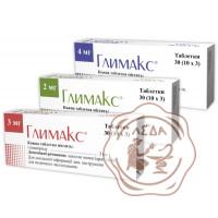 Глимакс табл. 2 мг №30  Кусум